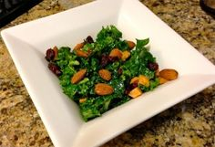 Sweet & Salty Roasted Veggie Kale Salad and other salad recipes.
