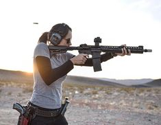 """11.4k Likes, 90 Comments - Miss Gat (@charissa_littlejohn) on Instagram: """"Don't be fooled, these rocks are extremely comfortable  Rifle: @uintah_precision Support:…"""""""