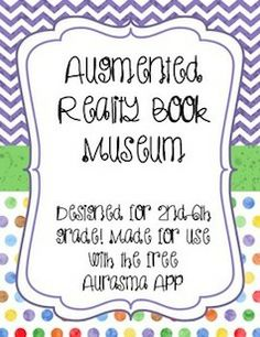 Are you ready to transform traditional book reports into hands-on, interactive, tech-centered book reports?! If yes, then this is the product for you. This product includes everything you need for a 3 day project of writing book commercials, filming them, and scanning them for the augmented reality book museum. You download the app, scan books, and your students' book commercials appear before your eyes!  $