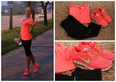 For running at night.  High lighter colors are super important