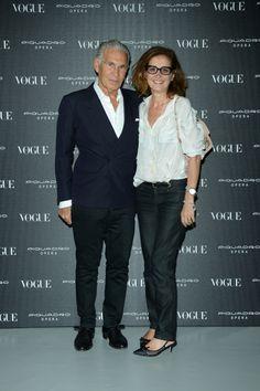 Wayne Maser and Sasha Gambaccini