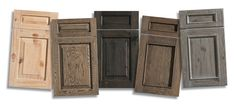 Dramatic New Finishes from Dura Supreme - Dura Supreme Cabinetry's Weathered Finish resembles driftwood.