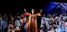 Opera Australia's Aida which I am currently working on - opens at the Opera House in July