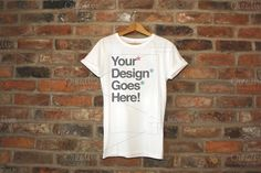 Check out [-30%]Clothing Brand T-Shirt Mockups by DanFreebairn on Creative Market