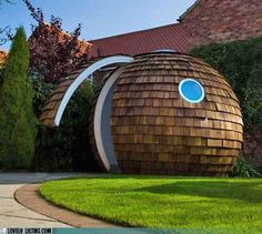 awesome garden shed!