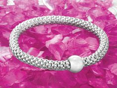 LOVE the #Sterling Chic Stretch Bracelet!  New from Silpada Designs. I'm excited to be a new representative!!!