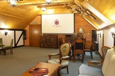 Idealne miejsce na konferencję dla Twojej firmy #wnetrze #konferencja #szkolenie #palacmortegi #business #hotel #mazury