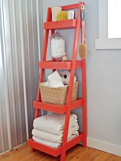 Ladder storage for bath?