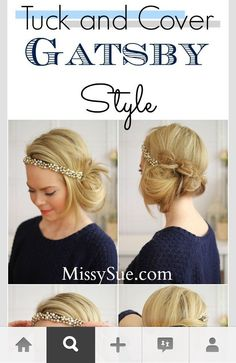 Cool 1000 Images About Gatsby On Pinterest Great Gatsby Hairstyles Short Hairstyles Gunalazisus
