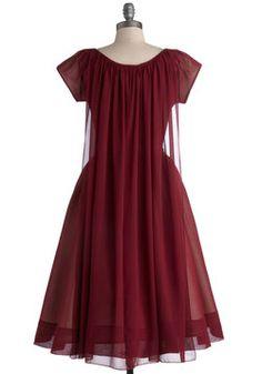 Old-Fashioned Fanfare Dress, #ModCloth