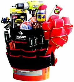 mr fix it gift basket -- this would be great at a school auction! by jennie