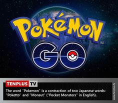 Fact of the day: what does Pokemon mean?