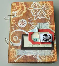 smitten with this mini book (as well as 2 other tattered angels projects at blog that are loverly)