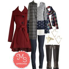 In this outfit: Dot Re Mi Sweater, Poetry Slam Premier Tunic, Calculated Sense of Chic Vest, Karaoke Songstress Jeans, Chillin' Haute Scarf, Winterberry Tart Coat, This Cursor That Earrings, Arrays the Bar Ring, Front Page Feature Boot #fall #fashion #layers #cozy #casual #ModCloth #ModStylist