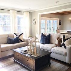 Thought I'd #spreadigkindness With ya... Yesterday I helped a friend all day with restyling her living room/dining... It all started over her sharing this dream spot with me, from Jamie @mindfullygray We both LOVE this style and palette. Thought I'd share just  because ....Jamie has no idea we were so inspired by her home. Happy Saturday friends! Hope you find inspiration in this IG community today!