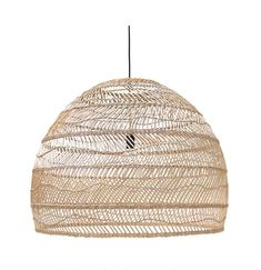 CHIC ETHNIC SUSPENSION The chic ethnic suspension will bring a holiday look with its natural materials. Ay Illuminate suspension will set a luxurious atmosphere to your home. Large Woven Basket, Large Baskets, Wicker Pendant Light, Basket Lighting, Tiffany Lamps, Deco Design, Decoration, Design Projects, Light Fixtures