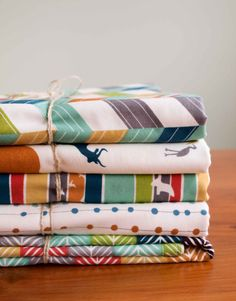 Organic Baby Blanket SERENGETI collection by organicquiltcompany