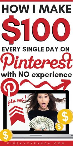 Did you know that you can use Pinterest as a way to make money online? I had no clue how to earn extra money from home before, but when I tried this, I was shocked that I was able to go from making $20 to now $100 to $200 per DAY! What a great way to turn a side hustle into a home business! PIN ME to learn how to make money and work from home with this job opportunity! Great for extra income and stay at home moms! How to make money on Pinterest! #makemoneyonline #workfromhome Learn how to…