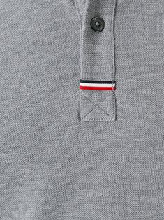 Moncler Gamme Bleu 스트라이프 폴로 셔츠