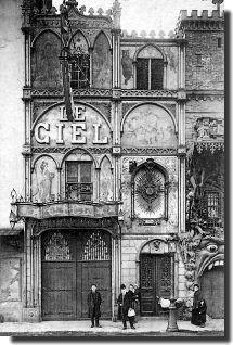 Les Cafés-Concerts à Paris dans les You are in the… Antique Photos, Vintage Pictures, Vintage Photographs, Old Pictures, Old Photos, Paris 1900, Old Paris, Paris France, Cabaret