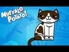 How to Draw A CAT Using Letters and Numbers with Muffalo Potato - YouTube