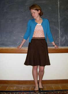 26 May 2011 - Pumpkin Spice with sweater by academichic, via Flickr