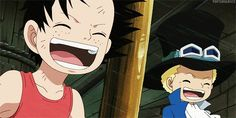 Ace and Sabo -one piece