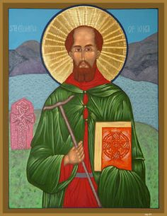 St. Columba He was an Irish abbot and missionary credited with spreading Christianity in present-day Scotland. He founded the important abbey on Iona, which became a dominant religious and political institution in the region for centuries. He is the Patron Saint of Derry. Feast day: June 9