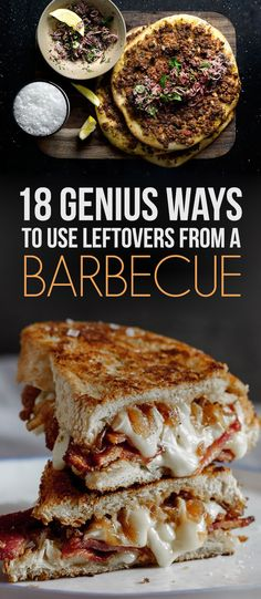18 Genius Ways To Use Leftovers From A Barbecue Because wasting BBQ leftovers is a missed steak. Bbq Steak, Bbq Beef, Barbecue Chicken, Barbecue Sauce, Bbq Grill, Barbecue Recipes, Grilling Recipes, Pork Recipes, Cooking Recipes