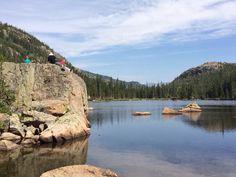mills lake, Estes Park CO