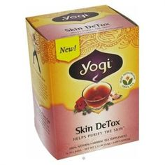 If you have acne at all, this tea is amazing for clearing up your skin. I have been drinking it for four days and am already seeing a difference. Yogi Skin Detox tea