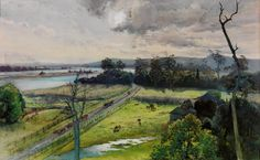Julian Ashton Shoalhaven River, junction with Broughton Creek, NSW 1891