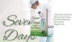 Seven Days An M/M Golf Novel By Author Cristina Bruni !! Out now!    #gayromance #contemporary #sports #golf #agedifference #jmsbooks #italianauthor Look at me Reggie. Im thirty-one I should be a grown man. I should be an adult insteadI realize nowthat I failed. I did everything wrong. Im alone withoutlove. Russells voice faded in a desperate wheeze his gazefar away again.  Reggie bit his lower lip. A monster was slowly starting to scream in his head: it was that desire that deep need to…