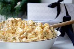 Batatový vánoční salát - cukfree Risotto, Potato Salad, Macaroni And Cheese, Good Food, Potatoes, Ethnic Recipes, Party, Elegant, Mac And Cheese