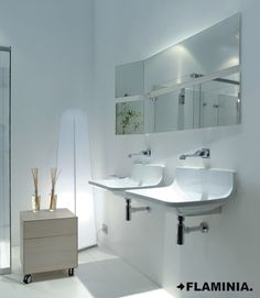 Lavabi/Basins PLATE - P.Norguet 2008 #CeramicaFlaminia #design