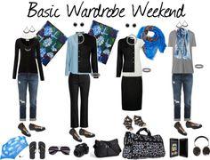 """Basic Wardrobe Weekend"" by susanmcu on Polyvore"