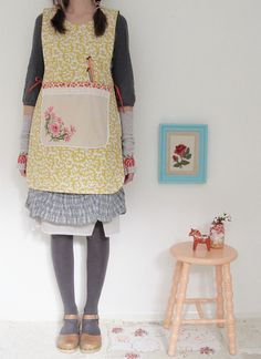 dottie angel makes pinnies now!! I can't wait for her shop update, I may have to snag one of these!