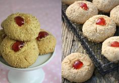 easy recipe for Scottish melting moments cookies