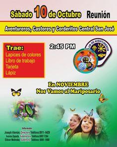 Reunion, este Sabado 10 de Octubre. En #NOVIEMBRE. NOS VAMOS Al #Mariposario.