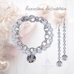 Luxusná, antialergická bižutéria #aurorashop #bizuteria #jewellery #perly #naramky #nausnice #luxusnabizuteria Diamond, Shopping, Jewelry, Fashion, Moda, Jewlery, Jewerly, Fashion Styles, Schmuck