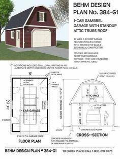 Garden Sheds Building Plans 10' wide gambrel truss plans | structures | pinterest | gambrel