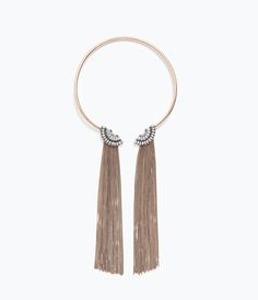 CHOKER WITH CHAINS-Jewellery-Accessories-WOMAN | ZARA United States