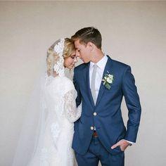 terno azul para noivos modernos