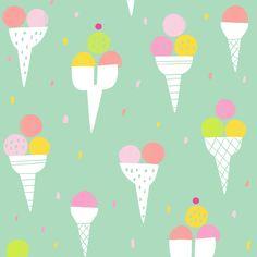 Pattern icecream