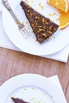 Chocolate Orange Torte // Loving Earth