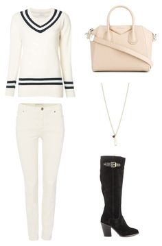 """Winter Fashion 2016, #9"" by mitchieanne21 on Polyvore featuring Oui, Frame, Kate Spade, Kelsi Dagger Brooklyn and Givenchy"