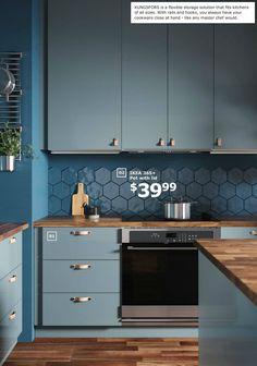 IKEA 2019 Catalogue Kitchen Trends 2018, Kitchen Dinning, Ikea Interior, Kitchen Interior, Kitchen Design, Furniture Nyc, Modern Furniture, Kitchen Furniture, Open Plan Kitchen