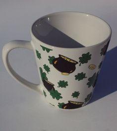 St. Patrick's Day, Four Leaf Clover Pot o' Gold Mug