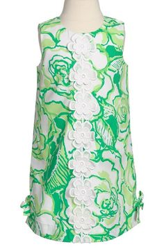 Lilly Pulitzer® 'Little Lilly' Shift Dress (Toddler Girls, Little Girls & Big Girls) available at #Nordstrom