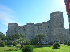 Castello Ursino is a castle in Catania, Sicily, southern Italy.
